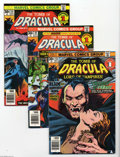Bronze Age (1970-1979):Horror, Tomb of Dracula #48-63 Group (Marvel, 1976-78) Condition: AverageNM-. Sixteen-issue lot includes #48, 49, 50 (Silver Surfer... (16Comic Books)