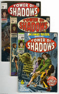 Silver Age (1956-1969):Horror, Tower of Shadows Group (Marvel, 1969-71) Condition: Average VG-.This group includes #1, 3, 4 (two copies), 5 (three copies)... (22Comic Books)