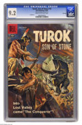 Silver Age (1956-1969):Adventure, Turok #12 File Copy (Dell, 1958) CGC NM- 9.2 Cream to off-white pages. Lee Elias art. Painted cover. Overstreet 2005 NM- 9.2...