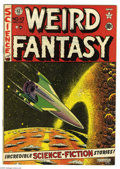 Golden Age (1938-1955):Science Fiction, Weird Fantasy #10 (EC, 1951) Condition: FN+. Al Feldstein cover.Interior art by Wally Wood (two stories), Jack Kamen, and J...