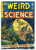 Golden Age (1938-1955):Science Fiction, Weird Science #9 (EC, 1951) Condition: FN+. Wally Wood cover.Interior art by Wood (two stories), Jack Kamen, and guest arti...