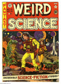 Golden Age (1938-1955):Science Fiction, Weird Science #10 (EC, 1951) Condition: FN+. Wally Wood cover.Wood, Jack Kamen, and Joe Orlando art. Overstreet 2005 FN 6.0...
