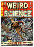 Golden Age (1938-1955):Science Fiction, Weird Science #12 (EC, 1952) Condition: FN+. Wally Wood cover.Interior art by Wood (two stories), Jack Kamen, and Joe Orlan...