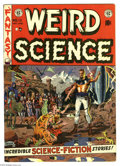 Golden Age (1938-1955):Science Fiction, Weird Science #13 (EC, 1952) Condition: FN+. Wally Wood cover.Wood, Jack Kamen, and Joe Orlando art. Overstreet 2005 FN 6.0...