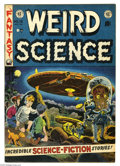 Golden Age (1938-1955):Science Fiction, Weird Science #16 (EC, 1952) Condition: FN+. Wally Wood cover.Wood, Al Williamson, Jack Kamen, and Joe Orlando art. Overstr...