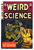 Golden Age (1938-1955):Science Fiction, Weird Science #19 (EC, 1953) Condition: FN/VF. Used in Seduction ofthe Innocent. Wally Wood cover. Wood, Al Williamson,...