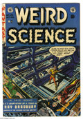 Golden Age (1938-1955):Science Fiction, Weird Science #20 (EC, 1953) Condition: FN+. Wally Wood cover.Wood, Al Williamson, Jack Kamen, and Joe Orlando art. Overstr...