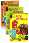 Bronze Age (1970-1979):Cartoon Character, Woody Woodpecker Group (Gold Key, 1969-79) Condition: AverageVF/NM. Short box lot features #107 (eight copies), 117 (30 cop...