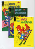 Bronze Age (1970-1979):Cartoon Character, Woody Woodpecker Group (Gold Key, 1969-76) Condition: Average VF+.This short box lot includes #105 (23 copies), 107 (28 cop...