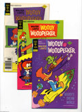 Bronze Age (1970-1979):Cartoon Character, Woody Woodpecker File Copies Box Lot (Gold Key, 1970-78) Condition:Average VF. This is one box lot consisting of: 111 (31 c...