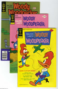 Bronze Age (1970-1979):Cartoon Character, Woody Woodpecker Group (Gold Key, 1975-79) Condition: Average VF.This short box lot includes #142 (23 copies), 143 (31 copi...