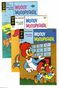 Silver Age (1956-1969):Cartoon Character, Woody Woodpecker Group (Gold Key, 1961-76) Condition: Average VF. This short box lot includes Woody Woodpecker #101 (27 ...
