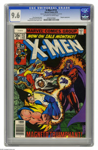 X-Men #112 (Marvel, 1978) CGC NM+ 9.6 Off-white to white pages. Magneto appearance. George Perez and Bob Layton cover. J...