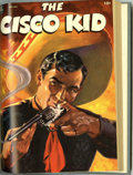 Golden Age (1938-1955):Western, The Cisco Kid Bound Volumes (Dell, 1950-56). These are Western Publishing file copies that have been trimmed and bound into ... (2 )