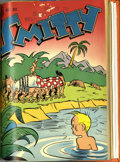 Golden Age (1938-1955):Miscellaneous, Dell Humor Bound Volumes (Dell, 1948-50). These are Western Publishing file copies that have been bound into a hardcover vol...