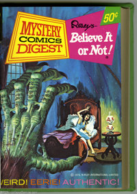 Mystery Comics Digest #1-6 Bound Volumes (Gold Key, 1972). These are Western Publishing file copies that have been trimm...