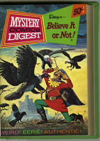 Mystery Comics Digest Bound Volumes (Gold Key, 1972-74). These are Western Publishing file copies that have been trimmed...
