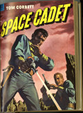 Golden Age (1938-1955):Science Fiction, Tom Corbett Space Cadet #6-11 Bound Volume (Dell, 1953). These areWestern Publishing file copies that have been trimmed and...