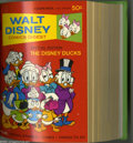 Bronze Age (1970-1979):Cartoon Character, Walt Disney Comics Digest #33-39 Bound Volumes (Gold Key, 1972).These are Western Publishing file copies that have been tri...