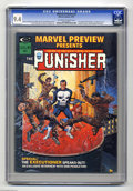 Magazines:Superhero, Marvel Preview #2 (Marvel, 1975) CGC NM 9.4 Off-white to whitepages. The first telling of the Punisher's origin, pre-dating...