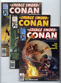 Magazines:Miscellaneous, Savage Sword of Conan Group (Marvel, 1977-80) Condition: AverageVF. Eighteen-issue lot includes #25 (Dick Giordano art), 26... (18Comic Books)