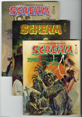 Bronze Age (1970-1979):Horror, Scream Group (Skywald, 1974-75). Six-issue lot includes #5 (VF/NM),6(VF), 7 (FN-), 8 (VF/NM), 10 (VF+), and 11 (VF-). Appro... (6Comic Books)