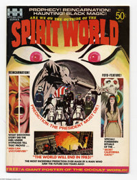 Spirit World #1 (Hampshire Distributors, Ltd., 1971) Condition: VF+. With poster. Neal Adams cover. Jack Kirby art. Over...