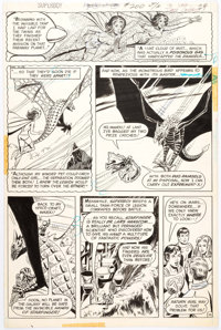 Dave Cockrum Superboy #200 Page 16 Original Art (DC, 1974)