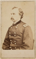 Photography:CDVs, George Armstrong Custer: Anthony/ Brady Carte de Visite of Custer with Short Hair....