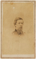 Military & Patriotic:Indian Wars, Alfred Sully: An Autographed Carte de Visite Image of this Notorious Indian Fighter. ...