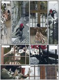 Original Comic Art:Panel Pages, Bernar Yslaire Sambre Vol. 3: Revolution,revolution... Planche 27 (Glénat 1993)....