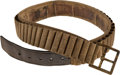 Military & Patriotic:Indian Wars, 1876-Pattern Cartridge Belt Probably Worn by a 7th Cavalry Trooper....