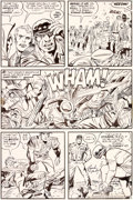 Original Comic Art:Panel Pages, Jack Kirby et Mike Royer Mister Miracle #12 Planche 8 (DC,1973)....