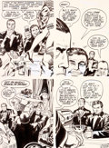 Original Comic Art:Panel Pages, Jack Kirby and Vince Colletta In The Days Of The Mob #1planche 28 (DC, 1971)....