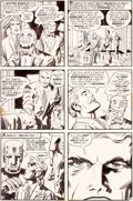 Original Comic Art:Panel Pages, Jack Kirby et Mike Royer Mister Miracle #12 Planche 12 (DC,1973)....