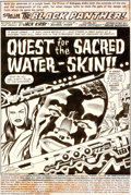 Original Comic Art:Splash Pages, Jack Kirby et Mike Royer Black Panther #5 Planche 1 (Marvel,1977)....