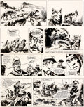 Original Comic Art:Panel Pages, William Vance Ringo: Piste pour Santa Fe Planche 29(Lombard, 1974)....