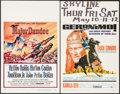 """Movie Posters:Western, Major Dundee & Others Lot (Columbia, 1965). Window Cards (10) (14"""" X 22""""). Western.. ... (Total: 10 Items)"""