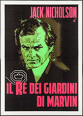 "Movie Posters:Crime, The King of Marvin Gardens (Heritage Italiana, 1976). Italian 4 - Fogli (55.25"" X 77.5"") & Italian Photobustas (7) (18"" X 26... (Total: 8 Items)"