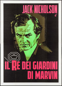 "The King of Marvin Gardens (Heritage Italiana, 1976). Italian 4 - Fogli (55.25"" X 77.5"") & Italian Photobu..."