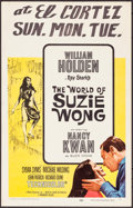 "Movie Posters:Romance, The World of Suzie Wong (Paramount, 1960). Window Cards (9)Identical (14"" X 22""). Romance.. ... (Total: 9 Items)"