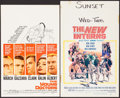 """Movie Posters:Drama, The Young Doctors & Others Lot (United Artists, 1961). Window Cards (9) (14"""" X 22"""" & 14"""" X 23""""). Drama.. ... (Total: 9 Items)"""