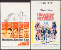 """The Young Doctors & Others Lot (United Artists, 1961). Window Cards (9) (14"""" X 22"""" & 14""""..."""