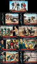 "Movie Posters:Western, Sergeants 3 (United Artists, 1962). Italian Photobustas (9) (18.5"" X 26.5""). Western.. ... (Total: 9 Items)"