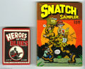 Bronze Age (1970-1979):Alternative/Underground, Robert Crumb Underground Comix and Cards Group (Various, 1977-80). This group consists of a VG/FN copy of The Snatch Sampl...