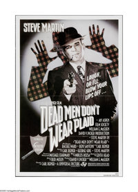"Dead Men Don't Wear Plaid (Universal, 1982). One Sheet (27"" X 41""). Offered here is a vintage, theater-used po..."