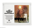 """Movie Posters:Drama, An Officer and a Gentleman (Paramount, 1982). Half Sheet (22"""" X 28""""). Offered here is a vintage, theater-used poster for thi..."""