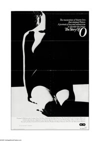 """The Story of """"O"""" (Allied Artists, 1976). One Sheet (27"""" X 41""""). Offered here is a vintage, theater-u..."""