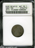 Early Dimes: , 1802 10C Poor1--Plugged-Damaged--ANACS,Fair Details,Jr-4....