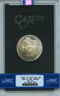 1885-CC $1 Doubled Dash, VAM-4, GSA, MS64 NGC. A Hot 50 Variety. NGC Census: (0/0). PCGS Population: (1/0). MS64. Mintag...